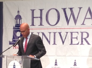 President Martelly Speaks at Howard University
