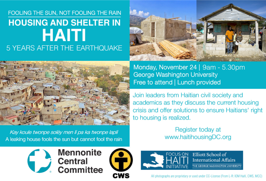 Fooling the Sun, Not Fooling the Rain: Housing and Shelter in Haiti 5 Years After the Earthquake
