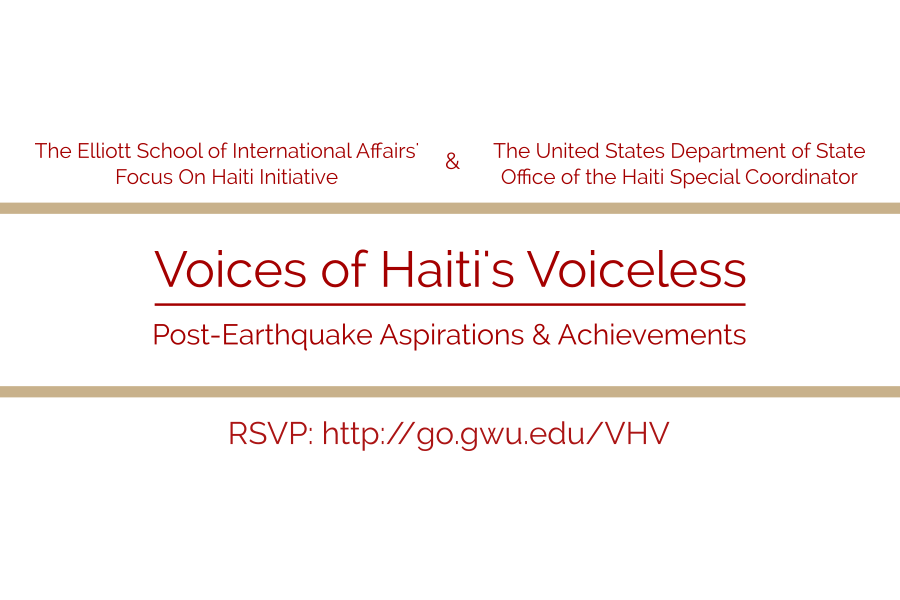 Voices of Haiti's Voiceless Symposium Agenda