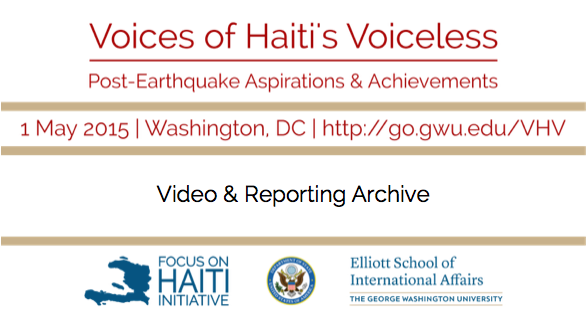 Voices of Haiti's Voiceless: Now Streaming